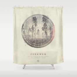 Fernweh Vol 4 Shower Curtain