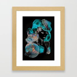 sea lady Framed Art Print