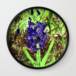 In the woods cometh Spring... Wall Clock