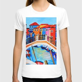 Colors of Venice Italy T-shirt