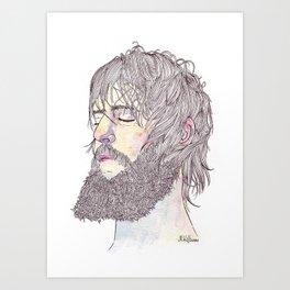 Ben Bridwell  Art Print