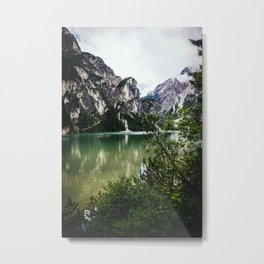 LAKE - MOUNTAINS - ROCKS Metal Print
