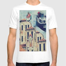 Maria, it's time to teenage riot Mens Fitted Tee MEDIUM White