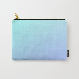 VIOLET ICE - Minimal Plain Soft Mood Color Blend Prints Carry-All Pouch