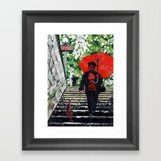 Metro (Métro) Framed Art Print
