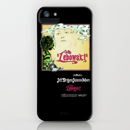 Lebowskitown iPhone Case