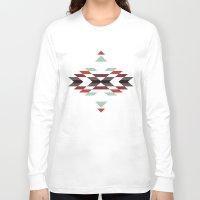 navajo Long Sleeve T-shirts featuring NAVAJO PRINT by peanutbuttajennie