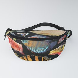Freshwater tropical fish Fanny Pack