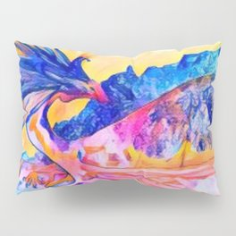 dragon benefico Pillow Sham