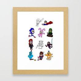 Kaze Kori Framed Art Print