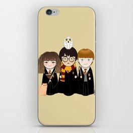 Kokeshis Hermi, Harry and Ron iPhone Skin