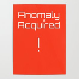 anomaly acquired 001 Poster