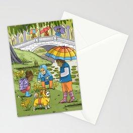 Rain Garden Stationery Cards