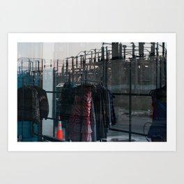 Juxtaposed  Art Print