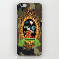charli xcx iPhone & iPod Skins featuring TRUE ROMANCE - CHARLI XCX by A Fuckin' Teenage Tragedy