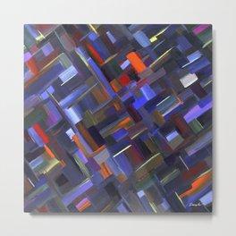 Geometrics 411 Metal Print