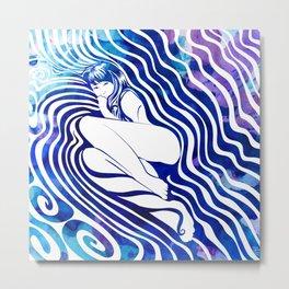 Water Nymph VII Metal Print
