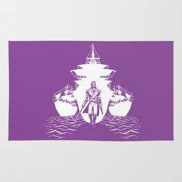 Guns and Ships Rug