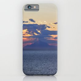 Mount Athos at Sunset iPhone Case