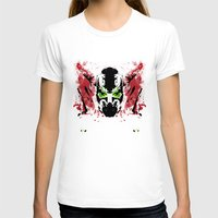 spawn T-shirts featuring Rorschach Spawn | Textured by Normal-Sized Deet