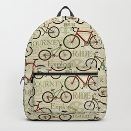 Bicycle Journey Backpack