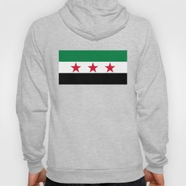 Syrian Independence Flag  High quality Hoody
