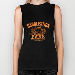 Candlestick Park Baseball Tee MLB San Giants Vintage softball Biker Tank
