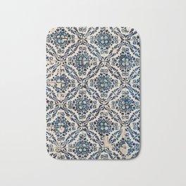 Azulejos - Portuguese painted tiles II Bath Mat