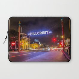 Hillcrest (San Diego) Sign - SD Signs Series #3 Laptop Sleeve