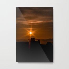 Sunstar Metal Print