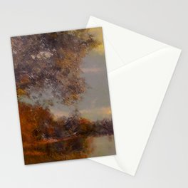 Lakeside Glow Stationery Cards