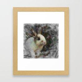Artistic Animal Bunny 2 Framed Art Print