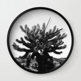 Cholla Cactus Garden XI Wall Clock