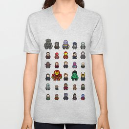 All Characters Unisex V-Neck