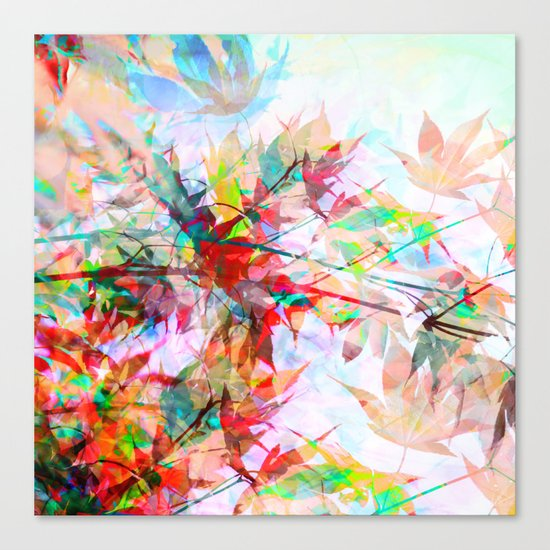 Abstract Autumn Canvas Print