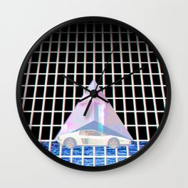 RETROWAVE NEONDREAMS 80's Wall Clock