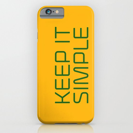KEEP IT SIMPLE iPhone & iPod Case