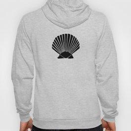 Black Seashell Hoody
