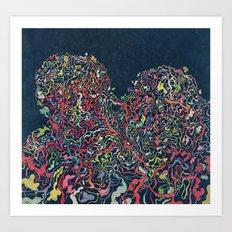 Junk Hearts Volume 2 Art Print