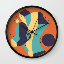 Lifeform #3 Wall Clock