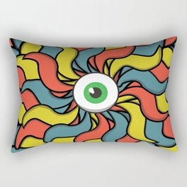 EYE TRIP Rectangular Pillow