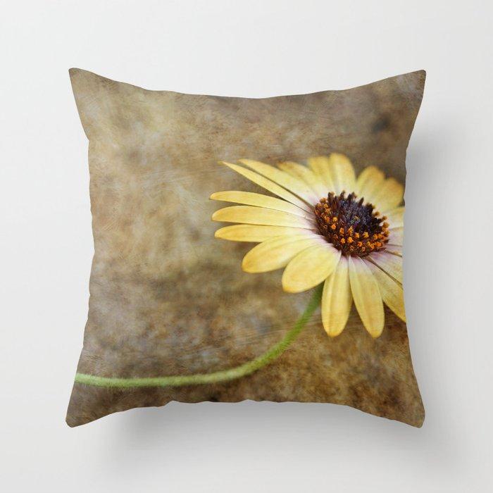 Resting...  Textured Throw Pillow