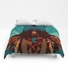 Mountain Dawn Comforters