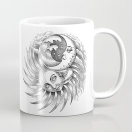 Moon and Sun Coffee Mug