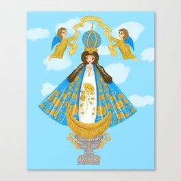 Our Lady of San Juan De los Lagos Canvas Print
