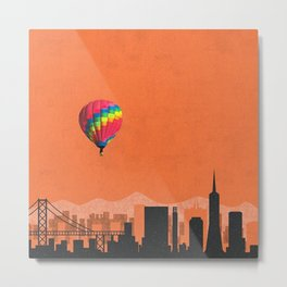 san francisco coldplay Metal Print