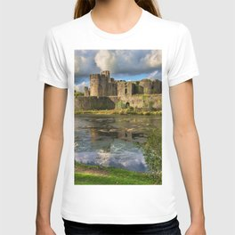Caerphilly Castle Moat T-shirt