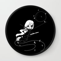 witch Wall Clocks featuring ▴ witch ▴ by PIXIE ❤︎ PUNK
