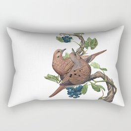 Mourning Doves Rectangular Pillow