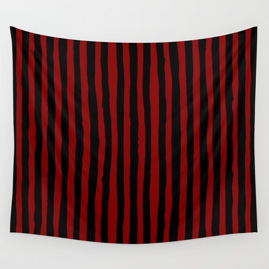 Black and Red Stripes by abigaillarson